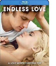 ENDLESS LOVE BLU-RAY / CASE / ARTWORK - ALEX PETTYFER - GABRIELLA WILDE
