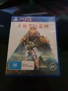 Anthem sony PlayStation 4 - PS4 - Multiplayer Shooter - Free Post good condition