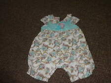 BOUTIQUE BABY BEETLE BEETLEJUICE 0-3 FLORAL OUTFIT