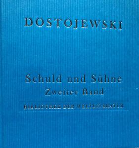 Dostojewski - Schuld und Sühne - Gebundenes Buch - NEU