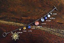 Sistema Solar Pulsera Pulsera De Piedras Preciosas Joyería de ciencia