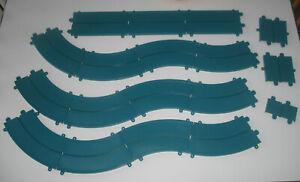 Ideal Motorific Racerific Curves and Track Pieces