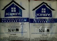 AVALIR 12 count F STYLE Cloth OEM SEALED SWEEPER Bags White Sentria Kirby Vacuum