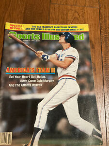 1982 Sports Illustrated Dale Murphy Braves No Label