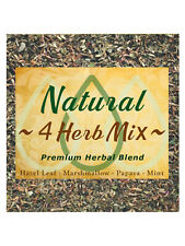 Natural 4 Herb Mix - Herbal Blend - Relax & Unwind Alternative Replacement Quit