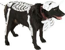 Corpse Bride Skeleton Bones Cute Fancy Dress Up Halloween Pet Dog Cat Costume