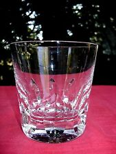 SAINT LOUIS  JERSEY OLD FASHIONED WHISKEY GLASS VERRE GOBELET A WHISKY PAQUEBOT