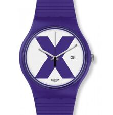 Swatch New Gent XX-Rated Purple SUOV401 Neuware