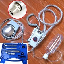 Dental Portable Lab Turbine Unit Air Turbine Compressor + 2 Holes Handpiece Kit
