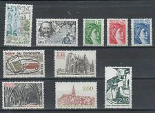 Timbres France 1981 Neufs**