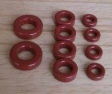 Toroïdal cœurs, la poussière-iron 4x T37-2, 4x T50-2, 2x T68-2
