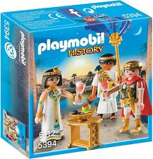 Playset César Et Cléopâtre PLAYMOBIL History 5394 Egypte RAR Caesar Neuf