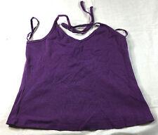 Old Navy Stretch purple knit halter top, size M