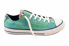 Converse Junior CT All Stars 654216C Sneakers Aegean Aqua UK 4 RRP £65 BCF74