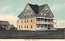 c.1910 Park House Matunuck  RI post card