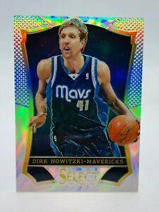 Dirk Nowitzki Dallas Mavericks 2013-14 Select Silver Prizm #142 *FREE SHIPPING*