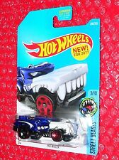 2017 Hot Wheels Hotweiler Street Beasts #206 Dtx25-D9B1K K case