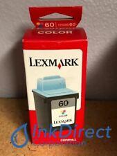 Genuine Lexmark 17G0060 Lex 60 Ink Jet Cartridge Color Z12 Z22 Z32