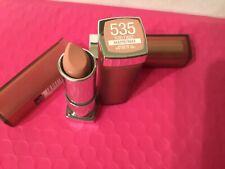 3 Maybelline Color Sensational Lipstick 535 Purely Nude Matte (unsealed)
