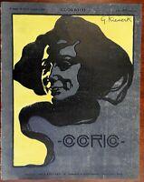 Female Portrait Kienerk cover splendid Cocorico 1900 French Art Nouveau magazine