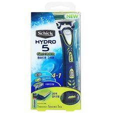 Genuine Schick Hydro 5 Groomer Mens Razor with Beard Trimmer