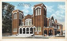 High Point NC~Wesley United Methodist Episcopal Church South~1920s