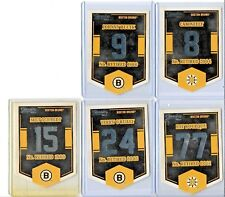 2012-13 DONRUSS CLASSIC BANNERS BOSTON BRUINS 5 CARDS