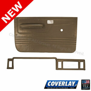 LT Brown Interior Accs. Kit 12-112CN-LBR For Bronco II Front Left Right-Coverlay