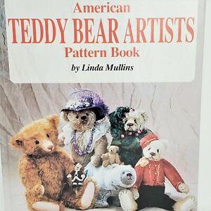 American Teddy Bear Artists Pattern Book by Linda Mullins 1998