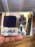 2019 Panini Unparalleled Alexander Mattison PATCH AUTO No 327