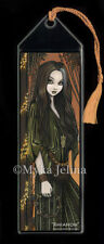 Bohemian Girl Tambourine Musical Fairy Rhianon BOOKMARK Myka Jelina Art