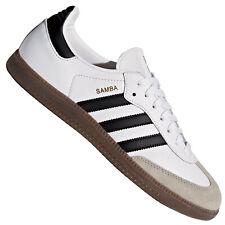 Adidas Originals Samba Retro Zapatillas de Hombre BZ0057 Cuero Blanco Negro