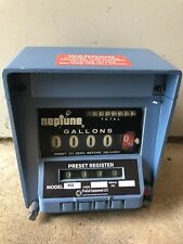 Neptune Meter Register Model 832 0 Warranty Fuel Oil Gas Diesel Jet Bio Water