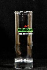 "Moskovskaya, Vodka, Gläser, Longdrinkglas 2cl/4cl, ""Der echte Russe"""