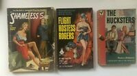 Lot 3  PULP FICTION LURID Pocket Paperback Multiple VINTAGE TRASHY Pulp Books