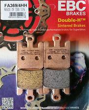 EBC/FA369/4HH Sintered Brake Pads (Front) - Kawasaki ZX6R, ZX6RR, ZX10R, ZX12R