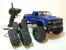 Amewi Rc Crawler Pick Up Truck Blau mit Ketten 1:16 Brushed 4WD 22394 Offroad #1