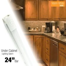 24 inch LED 480 Lm Lighting Kit Under Cabinet Accent Light Warm White (3000K)