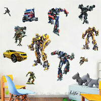 Transformer Kids Removable Wall Sticker Boys Nursery Vinyl Decal Art Mural Decor