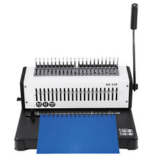 Coil Binding Machine Paper Puncher A4 21 Holes Home Efficient Steel Blade