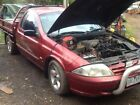ford au v8 ute may suit ford xr 8 buyers tradie ute duel fuel one tonner