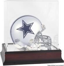 Dallas Cowboys Mahogany Logo Mini Helmet Display Case - Fanatics