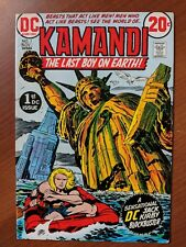 KAMANDI THE LAST BOY ON EARTH #1 1972 JACK KIRBY 1ST APPEARANCE GREAT CONDITION!