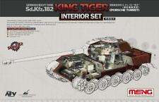 MENG 1/35 Sd.Kfz.182 King Tiger (tourelle de Porsche) Allemand char lourd Interior Set