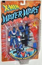 X-Men Water Wars Aqua Attack Nightcrawler figure MOC VHTF 1997 ToyBiz 43265