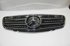 Mercedes Benz SL R230 SL500 SL600 AMG-Style 03-06 Front Grille Chrome & Black