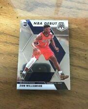 2019-20 PANINI MOSAIC Zion Williamson ( PELICANS ) NBA DEBUT Rookie RC #269