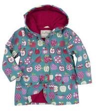 NWT Hatley Girls Orchard Apples Print Raincoat 5