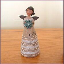 APRIL BIRTHDAY WISH ANGEL FIGURE BY KELLY RAE ROBERTS FREE U.S. SHIPPING