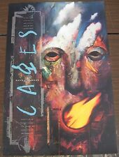*Cages poster signed by Dave Mckean!